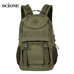 9d6491448a70 Molle Camping Rucksack Backpack Tactical Military Backpacks Tactical  Backpacks Hiking Outdoor Bag Army Bags Mochila Pack XA640WA  266169