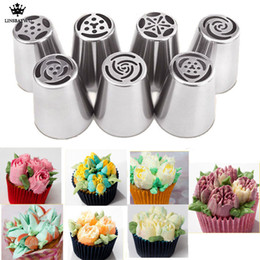 LINSBAYWU 1Pcs Premium Russian DIY Pastry Cake Icing Piping Decorating  Nozzle Tips Baking Pastry Tools Kitchen Accessories C18122401 e6b3c0d402da