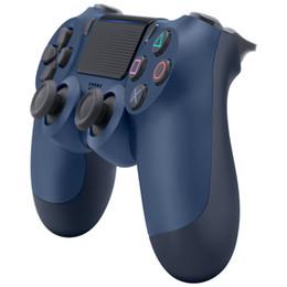 Top Controlador Sem Fio SHOCK 4 Gamepad para PS4 Joystick com pacote de Varejo LOGO Controlador de Jogo de Flydream de Fornecedores de jogos livres do telemóvel