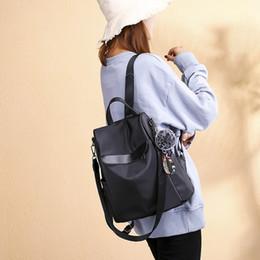 b040a8f5e7670 2019 stoff koreanischen stil 2019 einfacher rucksack Frauen Rucksack Trend  Wild Oxford Stoffbeutel Große Kapazität Reise