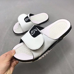 Canada Nike air jordan retro Jumpman Concord 45 11 sandales de designer Mens 13s slide HYDRO Chaussures de basket plates d'été Blanc noir RETRO femmes Beach Slipper Flip Flop cheap summer basketball shoes Offre