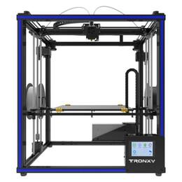 Impresora 3D X5ST-2E Kit de bricolaje para extrusión 2 en 1, cubos de impresión 3D Cuadrado de metal completo con pantalla táctil de 3,5 pulgadas Tamaño de impresión grande 330 * 330 * 400 desde fabricantes