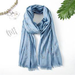 c365745ea Discount hijab scarf designs - Women Oversized Crinkle Hijab Geometric Cute Scarf  Shawl Simple Design Blanket