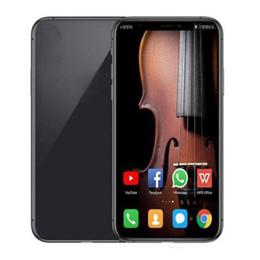 Frente de radio online-Vendedor caliente de 6,8 pulgadas Full Screen Display Celulares Cámara GooPhone Nota 10 + Plus Móvil 1G RAM 16 GB ROM Volver 12.0mp frontal de 5.0 megapíxeles
