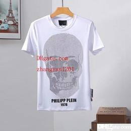 Mens 2019 marca de ropa de impresión camiseta para hombre ropa de verano de manga corta hip hop off tops camiseta hombre moda Punk tendencia camiseta blanca DS-Q3 desde fabricantes
