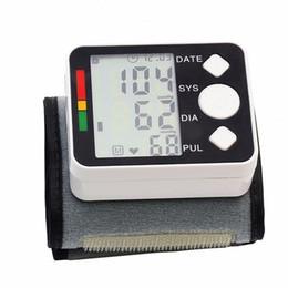 Medición de metros online-Medidor de presión arterial portátil de alta calidad Monitor digital Muñeco Esfigmomanómetro automático para la medición de la atención médica domiciliaria