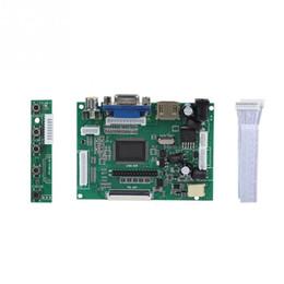 Controlador vga lcd online-HDMI + VGA + 2AV LCD Controller Board Kit para 7 AT070TN90 / AT070TN92 / AT070TN94