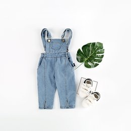 e6553ffa9 2019 Spring New Baby Boys Overalls Toddler Girls Clothing Children Denim  Pants Brand Girl Overall Jeans Kids Jumpsuit Bib Pants