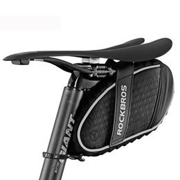 Hot ROCKBROS 4 Couleurs Vélo 3D Shell Sac Antipluie de Pluie VTT Vélo De Route Sac De Selle Réfléchissant Antichoc Vélo Arrière Selle De Selle Sac ? partir de fabricateur