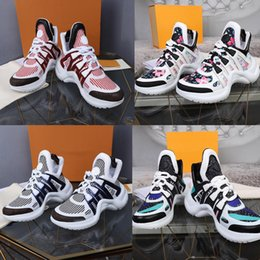 Высокое качество 2019 новый роскошный женский Archlight кроссовки мужчины натуральная кожа тренеры цифровые эксклюзивные Повседневная обувь Бегун обувь от Поставщики эксклюзивные ботинки
