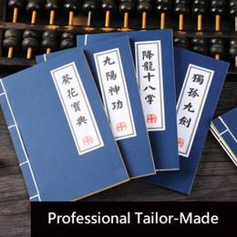 2019 libro vuoto hardcover Nuovo cinese stile Medfashion creativo divertente cinese Kung Fu notebook arti marziali Trucchi segreti di arti marziali notebook libro diario Notepad
