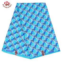 Argentina Ankara African Polyester Wax Prints Tela 2019 Cera de Alta Calidad 6 yardas Tela Africana para el Vestido de Fiesta FP6184 Suministro