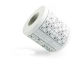 Vente Promotion Sudoku Rouleau De Papier Toilette Drôle Jeu Kill Time Nouveauté Cadeau Livraison Gratuite ? partir de fabricateur