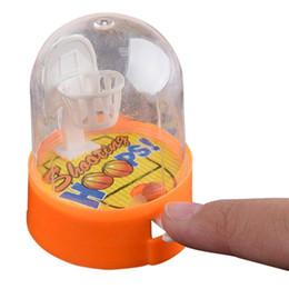 Mini gioco Developmental Basketball anti-stress Player palmare bambini Basket tiro giocattoli di decompressione regalo da regali all'ingrosso di guerra mondiale fornitori