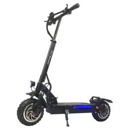 Scooter plegable para adultos online-FLJ 11inch todo terreno Scooter eléctrico para adultos 60V 3200W Fuerte nueva y poderosa eléctrica plegable Bicicleta plegable scooters de bicicleta aerotabla
