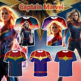 2019 рубашки супер герои 9 дизайнерской одежды бренда Captain Marvel Polo Comic LOGO Футболка Super Hero Капитан Америка Флэш Марвел Фильм Косплей Футболки скидка рубашки супер герои