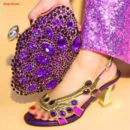 chaussures de carrière pour femmes Promotion doershow Date: Femmes africaines assorties chaussure et sac de design italien pour mariage italien chaussures avec sac assorti Italie SA1-46