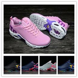 953c645ba Original Das Mulheres homens Mercurial Tn Além de Tênis de Corrida Chaussures  Femme Tn Designer de Tênis de Couro Kpu Mulher de Couro Sapatos Formadores  ...