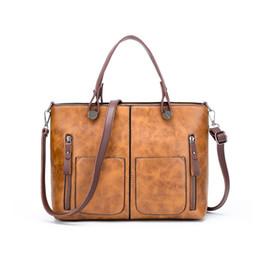 Frauen Tasche Große Kapazität Umhängetaschen Für Frauen Herbst Leder Fransen Handtaschen Geldbörsen Retro Shopper Tote Geschenk Sac A ... von Fabrikanten