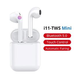 I11 kablosuz bluetooth 5.0 kulaklık kulaklık mikitech toptan Yüksek Kalite Wirless Bluetooth Kulaklık DHL üzerinden Ücretsiz Kargo nereden bluetooth ile tedarikçiler