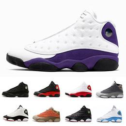 качественные мужские высокие колпачки Скидка Высокое качество Lakers Atmosphere Grey 13 13s Hyper Royal GS разводят мужчин Уличные баскетбольные кепки Cap and Gown 13s мужские спортивные кроссовки 41-47