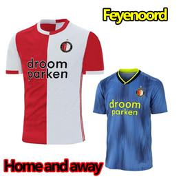 vacaciones de fútbol Rebajas Feyenoord 2019-20 camisetas jersey JORGENSEN VILHENA camisetas oficiales BERGHUIS TOORNSTRA V.PERSIE equipo de fútbol camisetas de fútbol nuevas