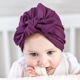 Orejas de conejo lindo Sombrero indio Bandanas bebés niñas nudo turbante diadema vendas del pelo vendas del pelo accesorios para niños headwrap desde fabricantes