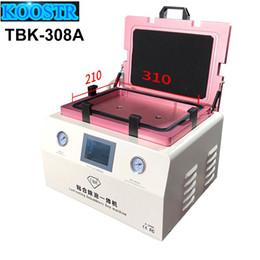 запорная машина Скидка 15-дюймовый TBK-308A Ремонт сенсорного ЖК-экрана Автоматическая машина для удаления пузырьков OCA Вакуумный ламинатор с автоматической блокировкой