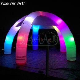 Kişiselleştirilmiş soğuk hava balonu şişme örümcek kubbe çadır, fuar merkezi, özel akşam yemeği gölgelik, Satılık led ışıkları ile Sunbelt kapak nereden arı kostümleri tedarikçiler