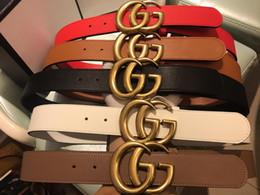 Cintura in pelle beige online-Nel 2019, nuova cintura in pelle di alta qualità fibbia della cintura del progettista, cintura della signora della moda, cintura in pelle all'ingrosso, confezione regalo, consegna gratuita!