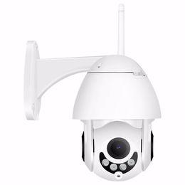 cúpula câmera de segurança metal Desconto Câmera 1080P 2MP sem fio IP Camera Wifi MINI pequeno Speed Dome PTZ Outdoor IP66 ONVIF Two Way Áudio Night Vision IR CCTV Segurança