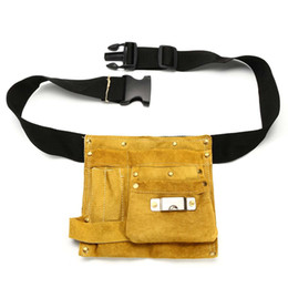 Lots 4 Gardens Shear Electrician Carpenter Tool Waist Belt Leather Bag