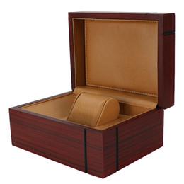 2019 таможенные брокеры 2020 новый деревянный PU часы Box хранения дисплей продвижение Case бизнес Case для бренда часы пользовательские логотип Оптовая Drop доставка дешево таможенные брокеры