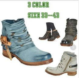 Laço de couro barato on-line-Lace-up Martin botas Designer Calçados Mulheres Moda Botas Ankle Couro Big US12 Tamanho por Mulheres Escombros inferior Boa qualidade e barato