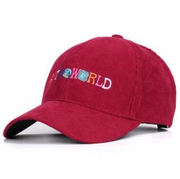 Astroworld Herrenhüte WÜNSCHEN, DASS SIE HIER SIND Travis Scotts Cap Echter Freund Streetwears Smile Earth-Baseballmützen von Fabrikanten
