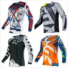 2019 ropa de cuesta abajo 2019 Racing MTB Ropa de Ciclismo para hombres Ciclismo de montaña Maillot BMX MX Ropa de bicicleta Moto Motocross Camisetas rebajas ropa de cuesta abajo