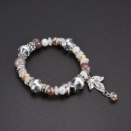 heiße neue freundschaftsarmbänder Rabatt Neue Phantasie Design heißer Verkauf Männer und Frauen Freundschaft Schmuck bunte natürliche Edelstein Kristall Perlen Armband