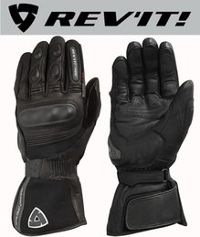 2019 guanti da moto invernali Moto in pelle impermeabile invernale REV'IT! Guanti Summit H2O per guanti moto Revit per guanti da motociclista guanti da moto invernali economici