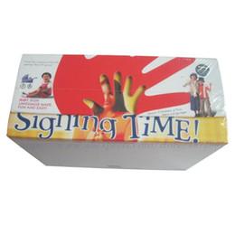 Canada Nouveau toujours stock Baby Signing 32disc + 12C D Good Time Education de la petite enfance cheap education babies Offre