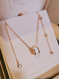 Collares gruesos de oro para mujer online-Joyería de la mujer 2019 moda nuevo simple chapado ultra-grueso 18K collar de oro de gama alta exquisiteat