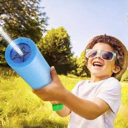 2019 brinquedos de água de espuma Ao ar livre 3 pcs Arma de Água Brinquedos Fácil-de-carregar Espuma Água Blaster Verão Piscina Praia Brinquedo Divertido para Crianças Adultos brinquedos de água de espuma barato
