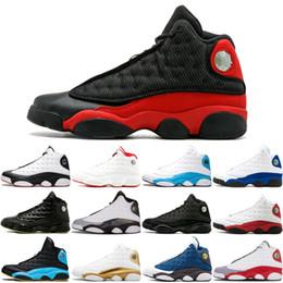 size 40 8b8cd 1ab51 13 13S Scarpe da basket di qualità migliore Black Cat 3M Men Barons Chicago  Grey Toe Hyper Royal Flint allevate Gym Red Sports Sneakers 8-13 migliori  scarpe ...