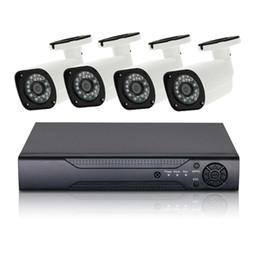 4ch h 264 dvr онлайн-4-канальная система видеонаблюдения 1080P AHD камера HDMI H.264 DVR 4PCS Система видеонаблюдения Открытый Водонепроницаемый IR-CUT Комплект камеры безопасности