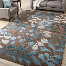 Blauer teppich modern online-Moderne Teppiche Minimalist Teppich für Wohnzimmer Nordic Bodenmatte Home Decoration Zubehör Teppich Tapetes Para Banheiro