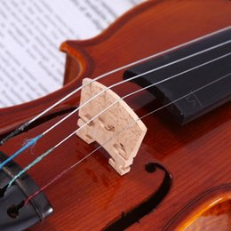 Codifica strumento online-Legno Acoustic Violin Ponte Maple Codice Violino Musical Instrument accessori