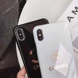 giù iphone Sconti 2019 designer per iPhone X XR xs max custodia per cellulare r design del marchio TPU per iPhone 6 6plus 7 7plus 8 8plus cover protettiva