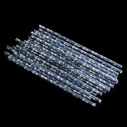 2019 морские соломинки Военно-морской флот с бумажной соломкой White Anchors, Декор вечеринки военно-морского флота, Соломенные бумажные якоря, Вечеринка Blue Boat дешево морские соломинки