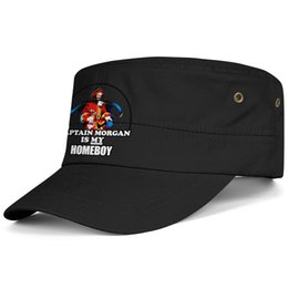Logo Morgan Morgan Flat-along Réglable Capitaine Morgan logo Chapeaux de camionneur coton Hip-Hop Chapeaux de seau de golf Casquettes de l'armée de cadet Chapeaux Airy Mesh Chapeaux pour hommes ? partir de fabricateur