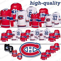 22bf97f04 31 Carey Price 67 Max Pacioretty Camiseta de los Montreal Canadiens Hockey 11  Saku Koivu 6 Shea Weber 92 Jonathan Drouin 27 Alex Galchenyuk camisetas