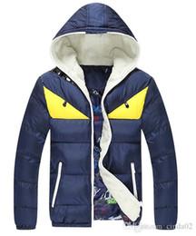 parka de lã de inverno Desconto Novo monstro engraçado casaco com capuz Velo grosso do inverno Casaco de algodão quente homens Parkas Outwear Parka à prova de vento jaqueta de inverno homens